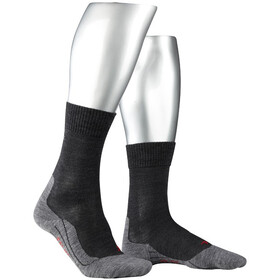 Falke TK5 Trekking Socks Men grey/black